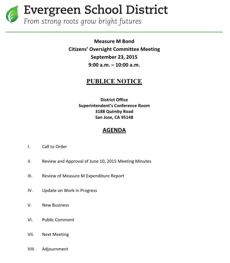 October 24, 2016 Agenda/Minutes