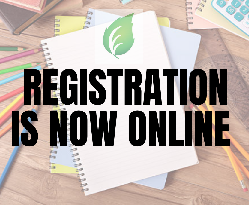 Registration is Now Online