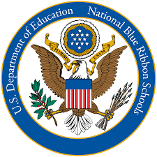 National Blue Riboon School logo