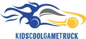 Kids Cool Game Truck Logo