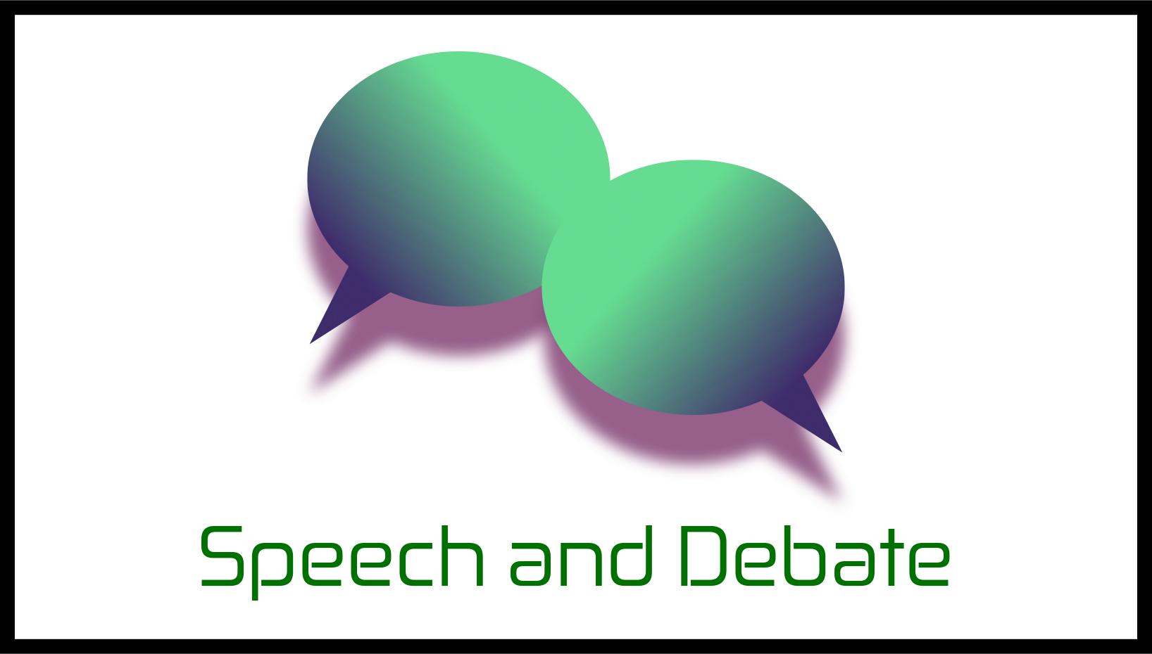 Speech & Debate Logo