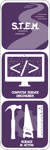 S.T.E.M.: Computer Sciences Discoveries, Science in Action Logos