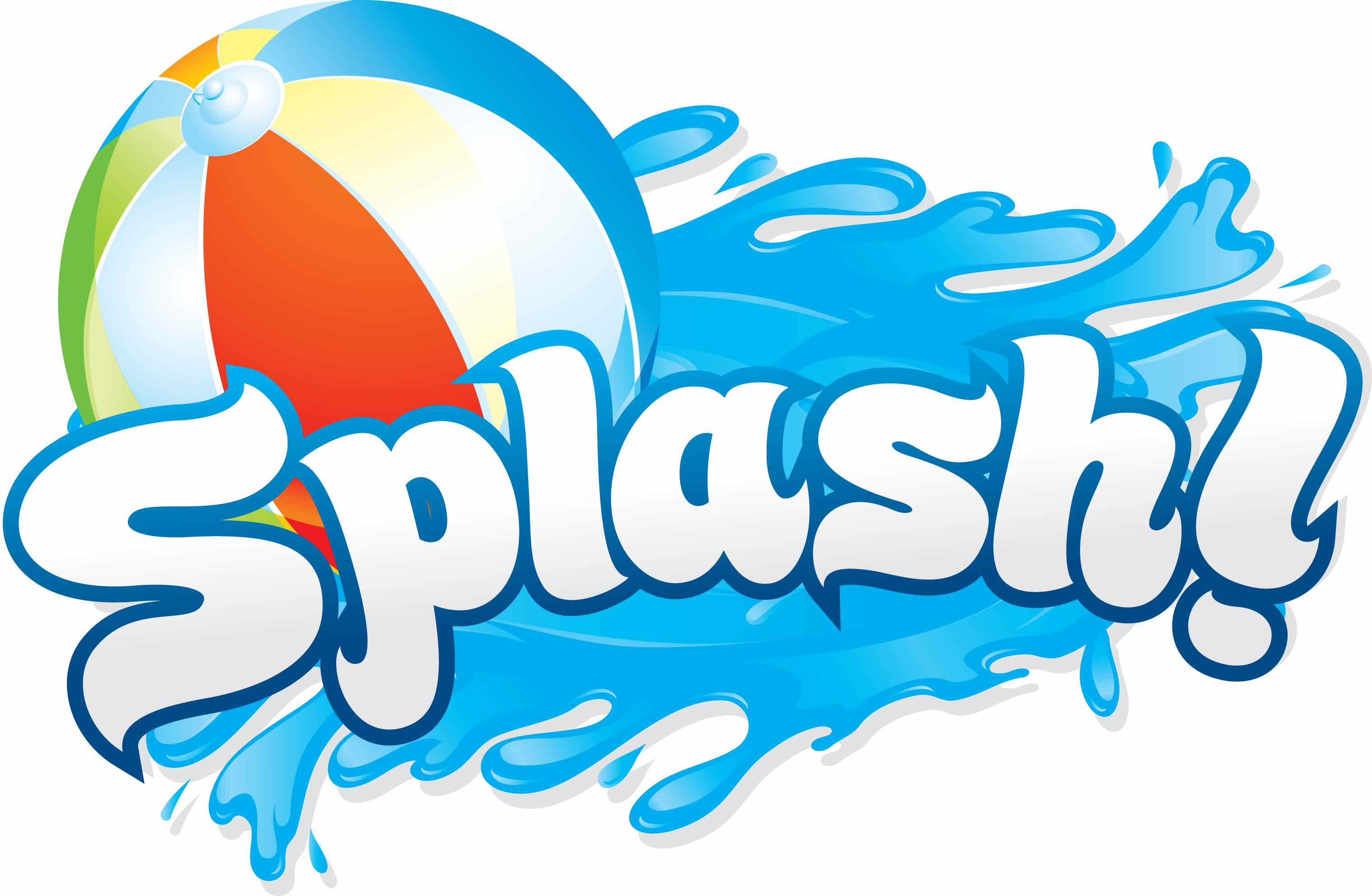 Beach Ball, Water, Splash!