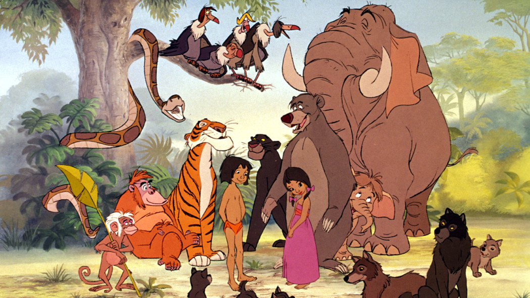 Disney's Jungle Book - Animated Characters