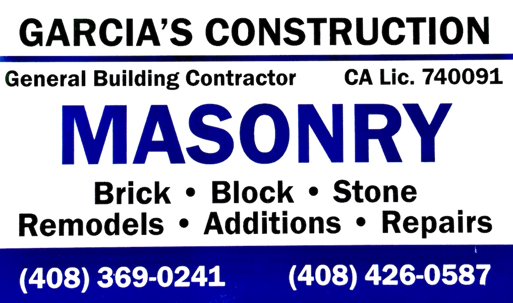 Garcia's Construction Business Card