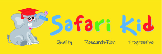 Safari Kid, Elephant, logo