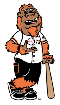 Gigante the Giants mascot